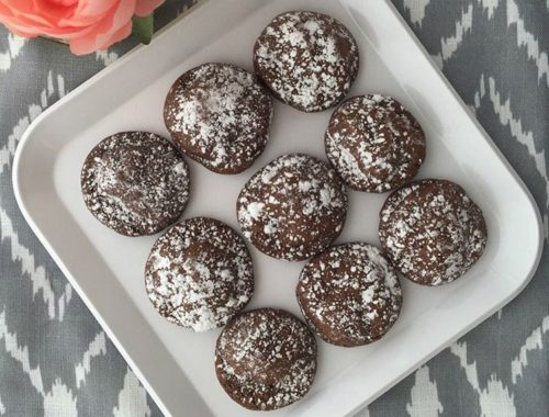 Easy Cookie Recipe | Chocolate Caramel Cookies with Rolo Candies