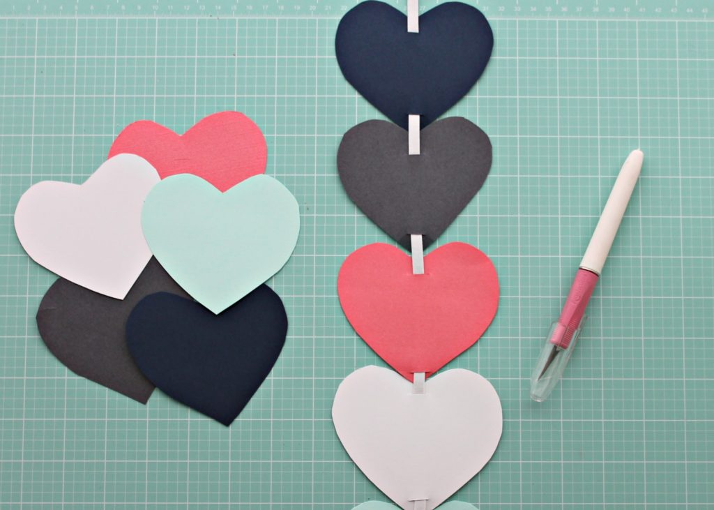 DIY Heart Wall Step 3