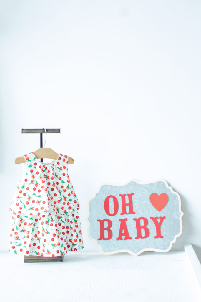 Cherry Baby Shower | Cherry Party | Baby Dress