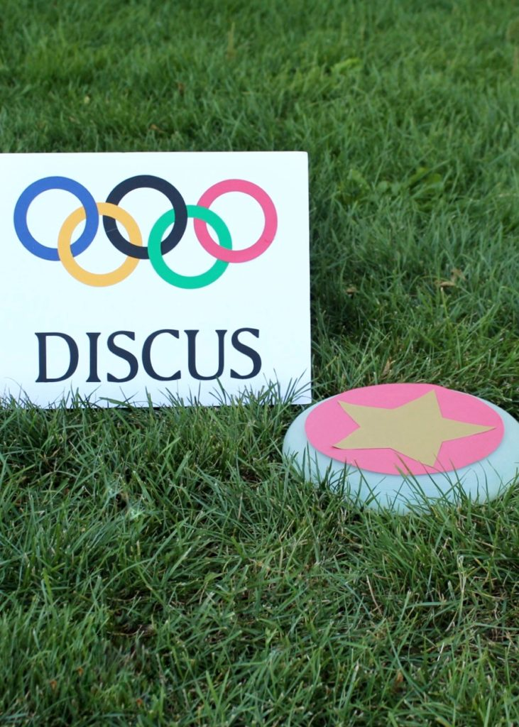Discus Game Olympics Party