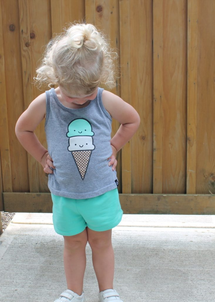 Ice Cream Fashion: Kids Tanks