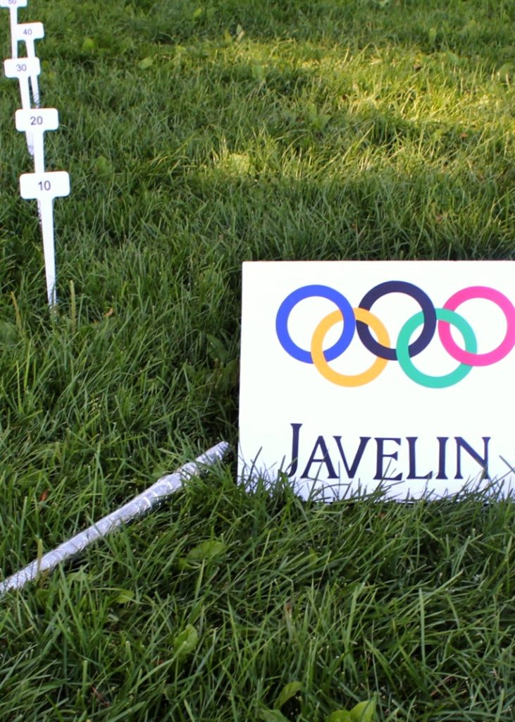Javelin Game Olympics Party