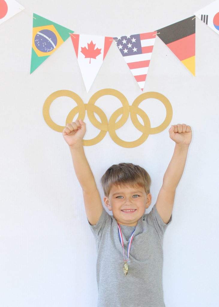 Medal Stand Olympics Party