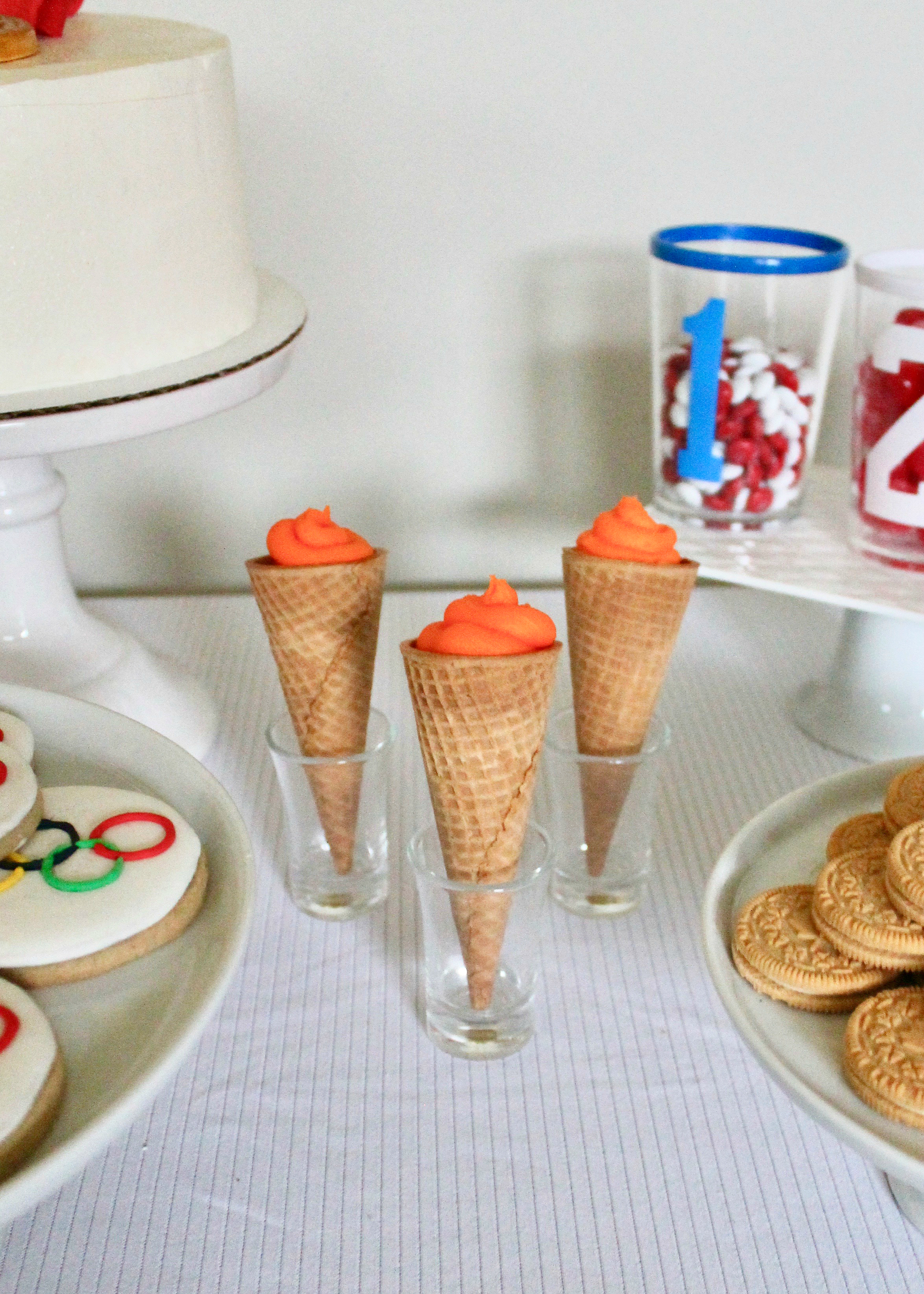 Olympic Party | Olympic Ideas | Go For Gold | Olympic Dessert Table | Kids Party Idea