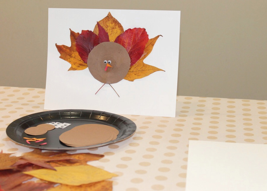DIY Leaf Turkey Craft | Fall Kids Craft