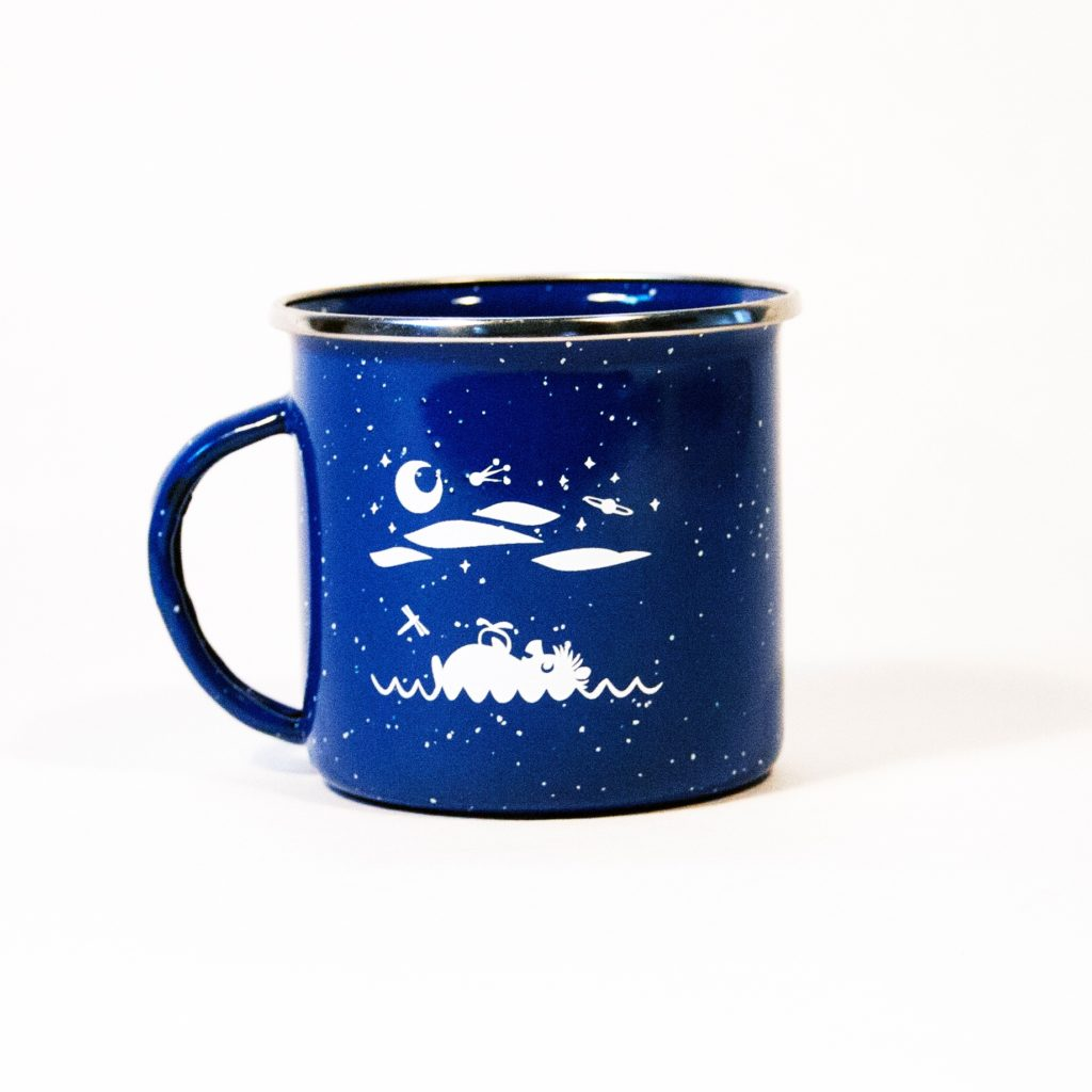 Camper Mug by Forest & Waves