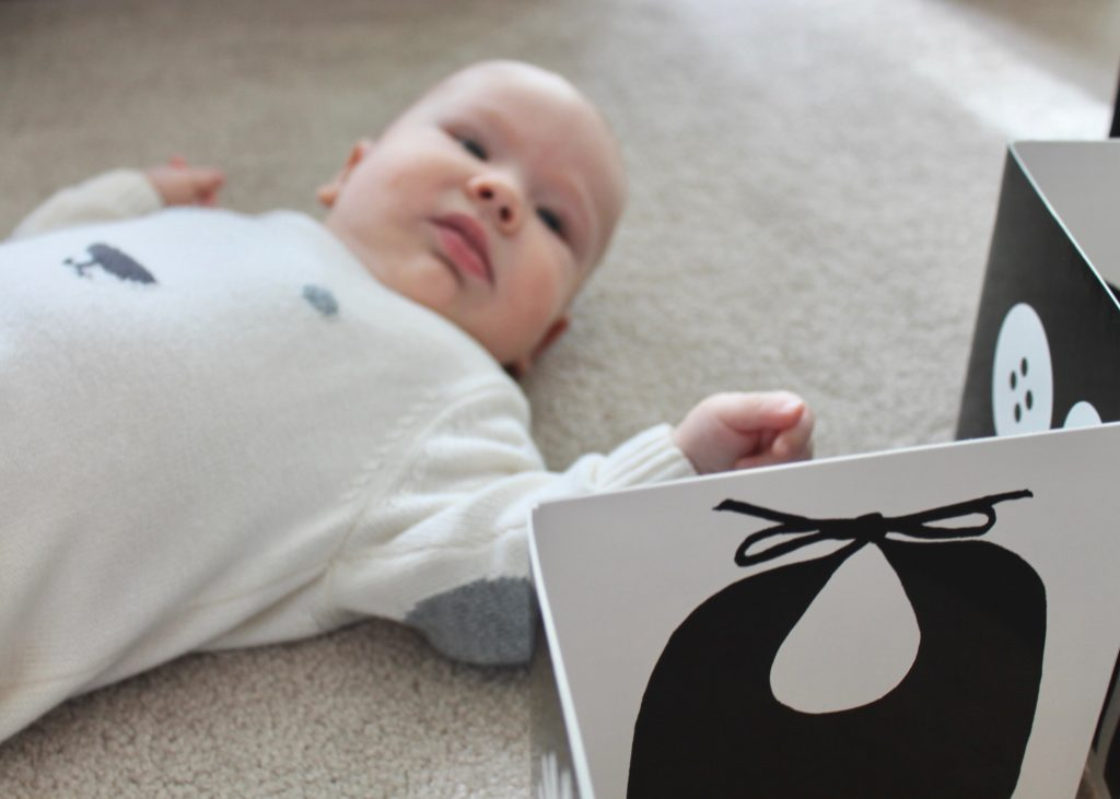 Black and White Books/Cards for Baby