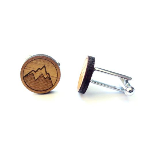 Mountain Man Cufflinks from cabin+cub