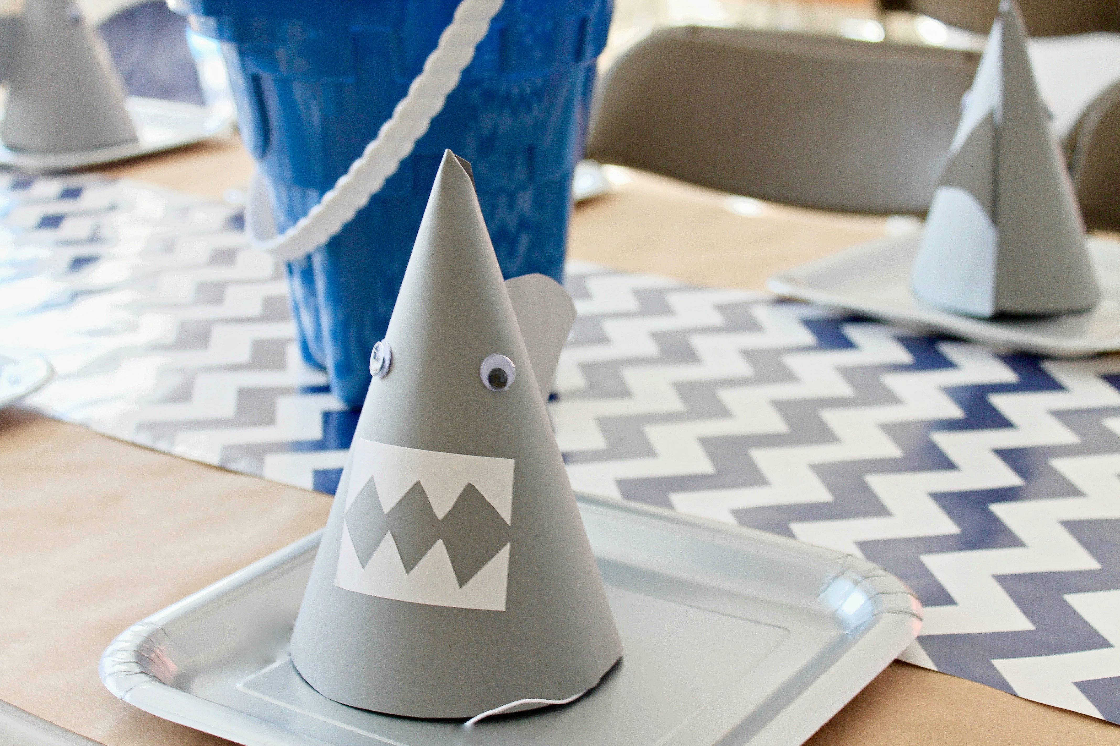 Jawsome Shark Boy Birthday Party