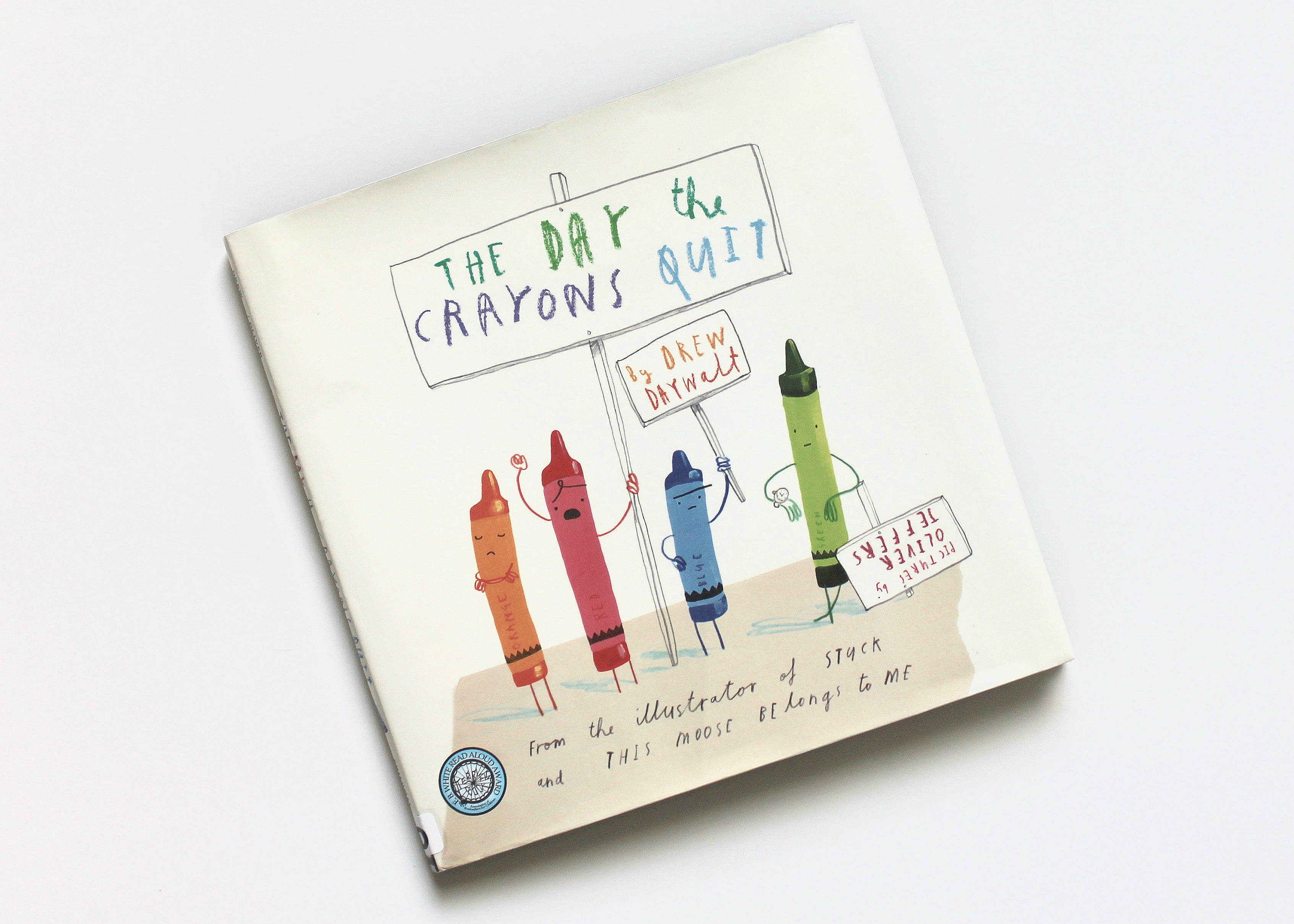 "Best Kids Books About Feelings | ""The Day the Crayons Quit"" Book"
