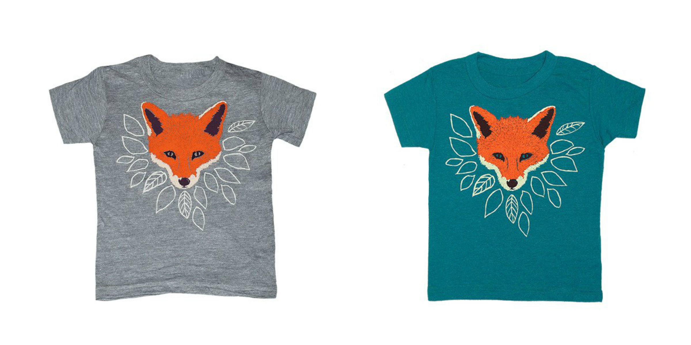 Back to School Fashion | Fox Kids Gear | Kids T-Shirt | Fox T-Shirt