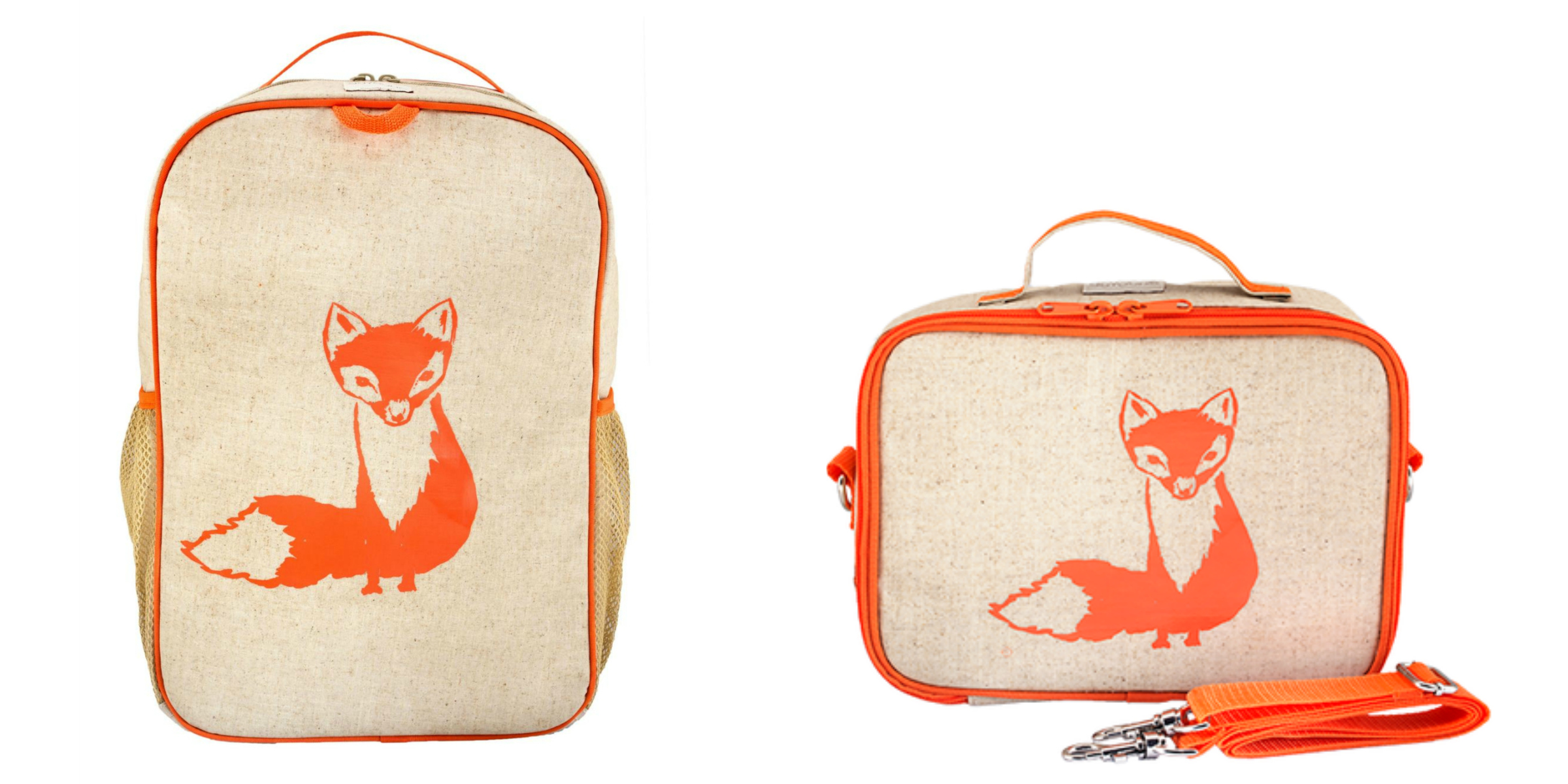 SoYoung Fox Backpack | SoYoung Fox Lunch Box | Back To School Bags for Kids