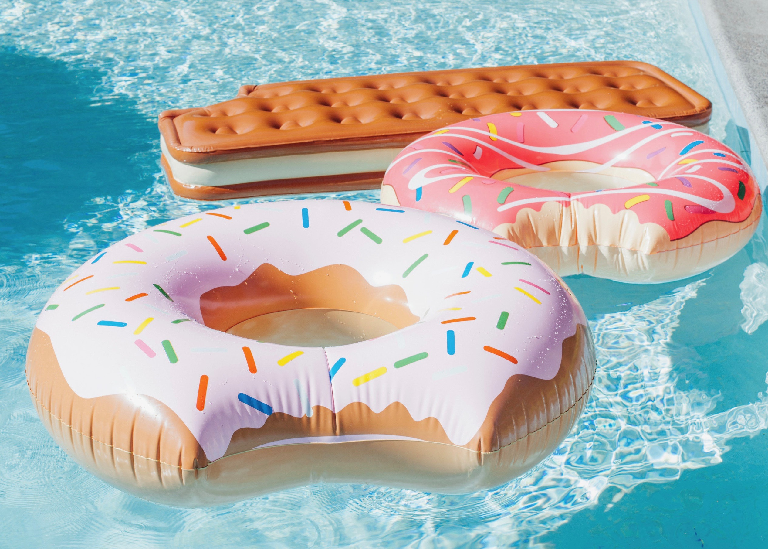 Treat Yo Self Ice Cream Social | Pool Party