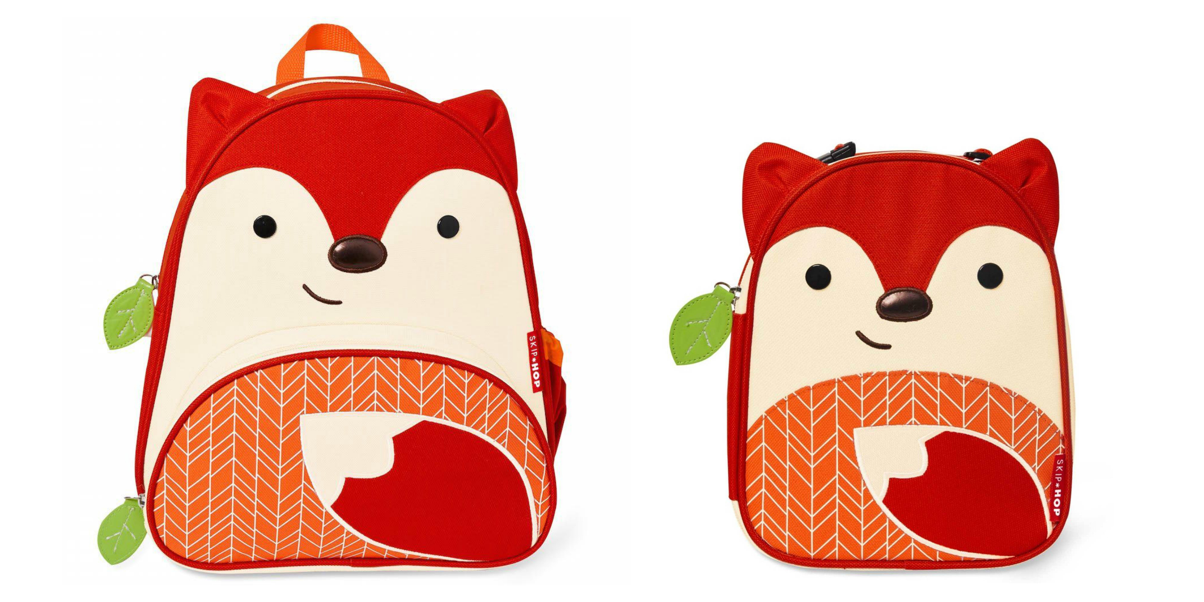Skip Hop Fox Backpack | Skip Hop Fox Lunch Box | Back To School Bags for Kids