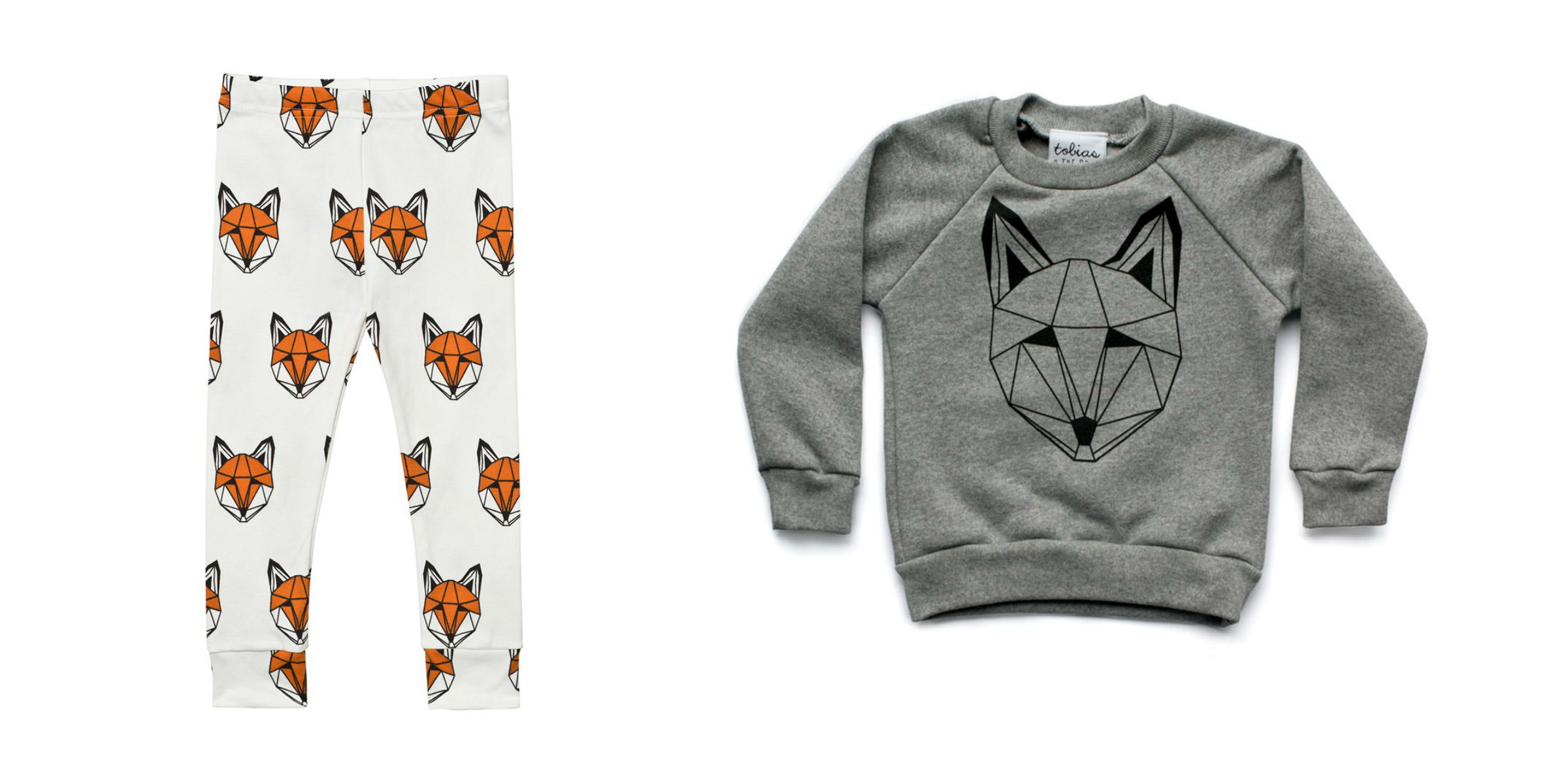 Fox Leggings for Kid's Back To School Waredrobe