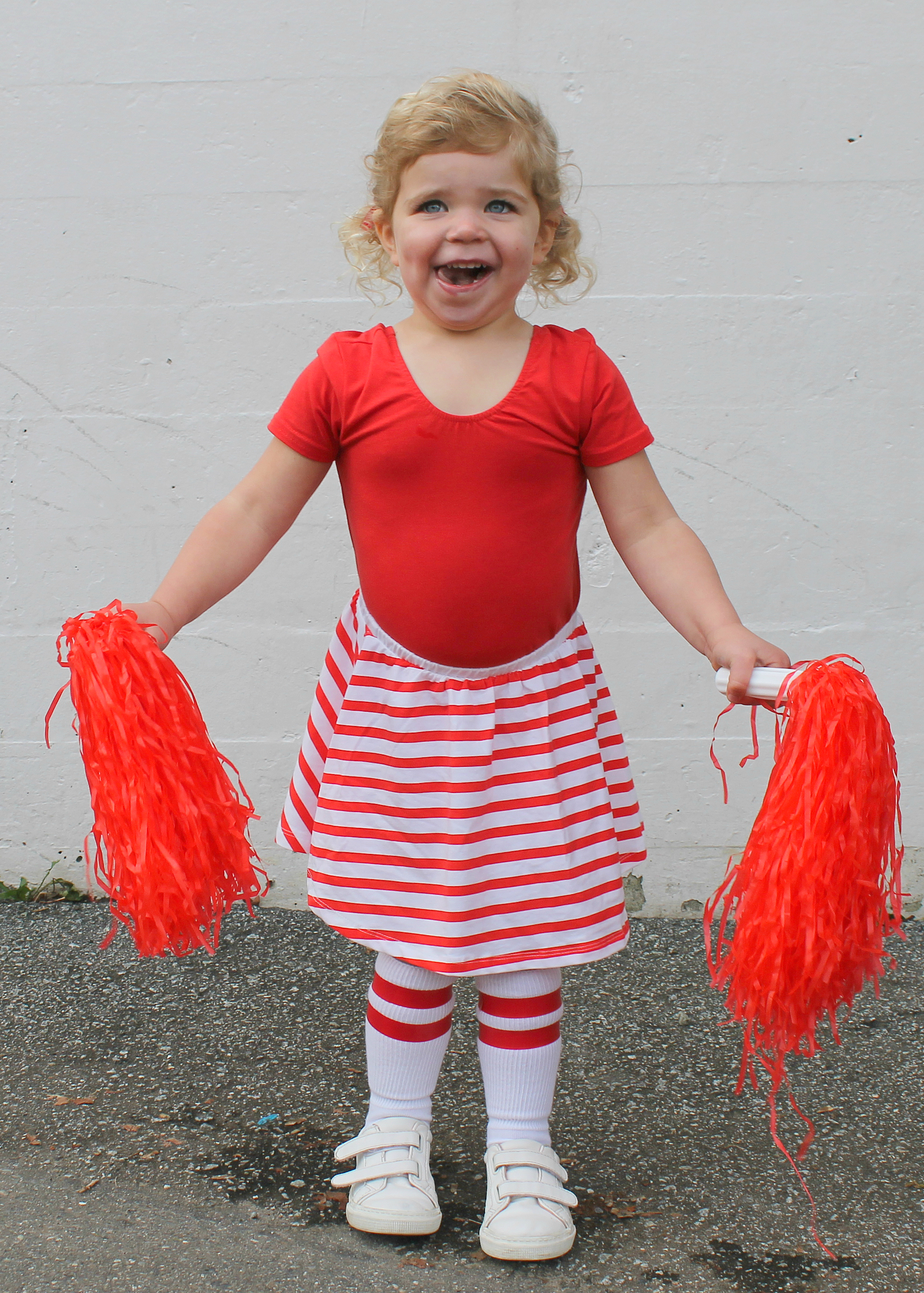 Family Halloween Costume Ideas | Group Costume Ideas | Kids Halloween Costumes | Football Cheerleader Costume