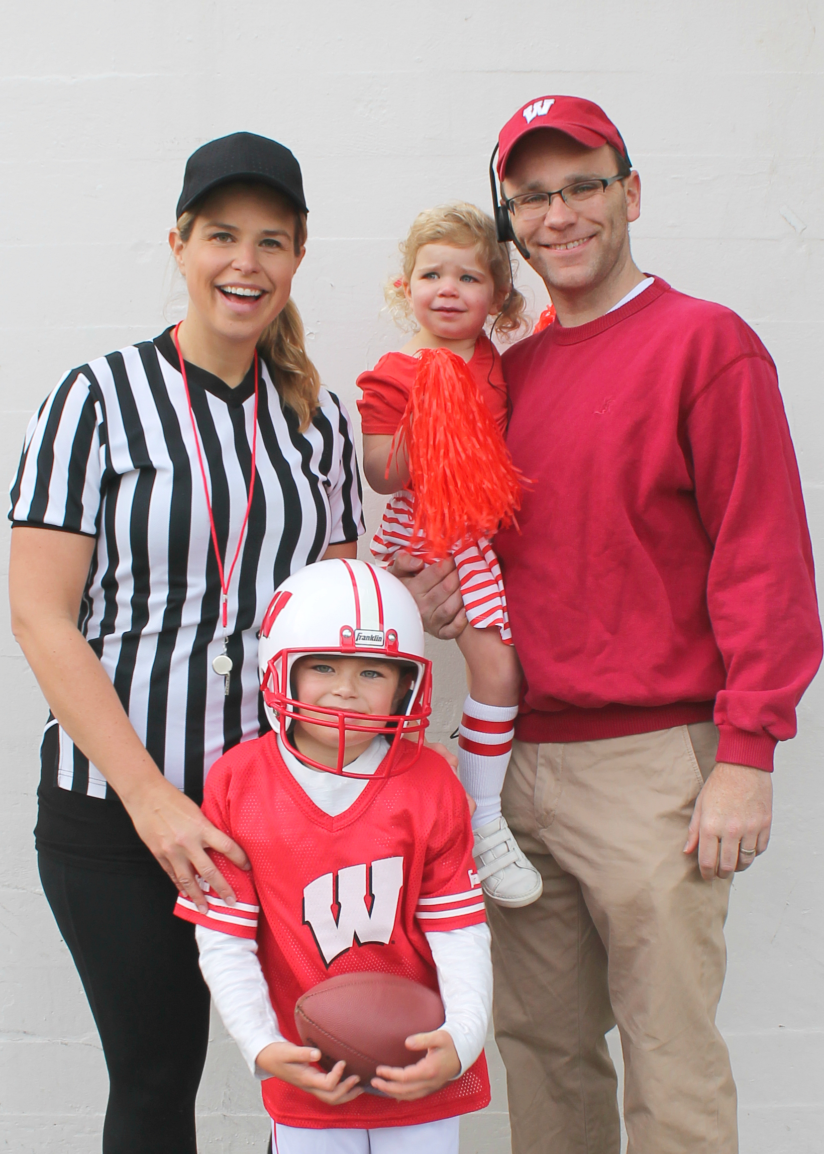 Family Halloween Costume Ideas | Group Costume Ideas | Kids Halloween Costumes | Football Team Costume