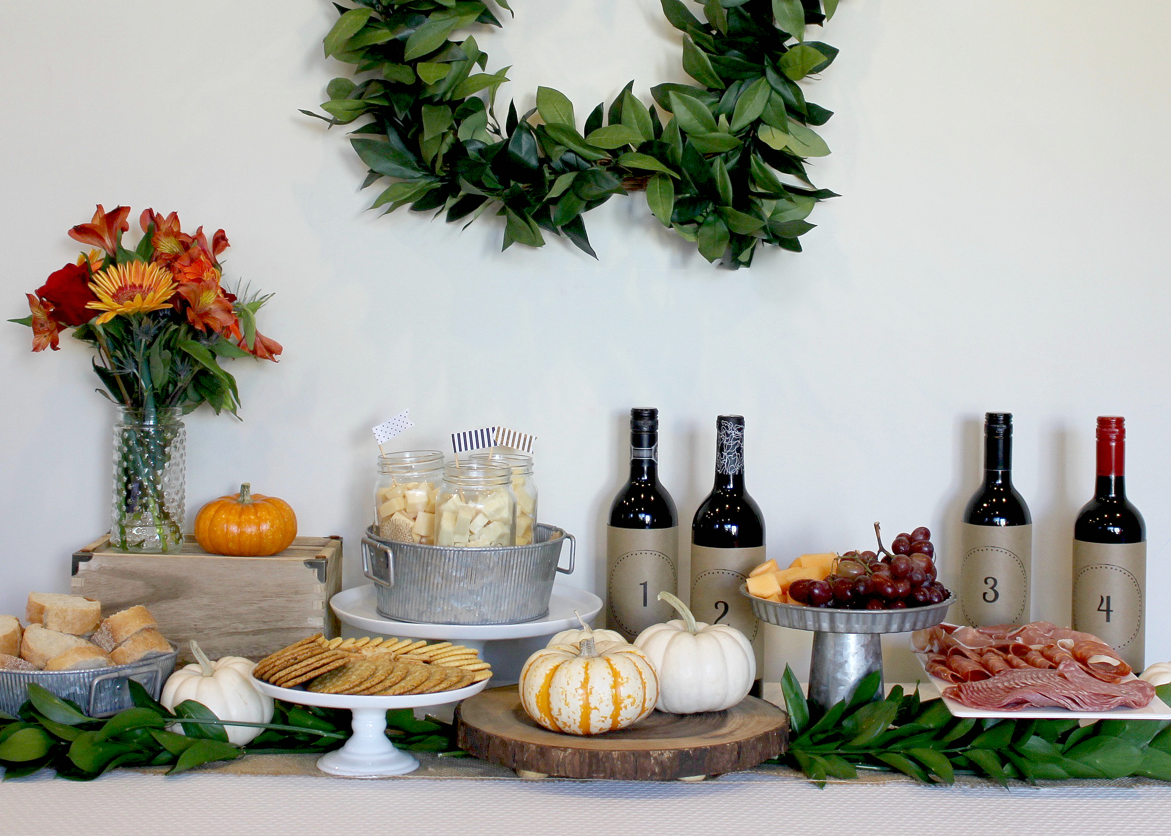 Mom's Night In | Wine Tasting | Wine Party Ideas | Holiday Entertaining