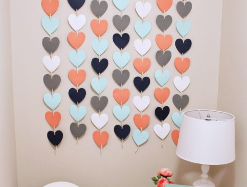 DIY Heart Wall Hanging | Nursery Decor | Kids Bedroom | DIY Project