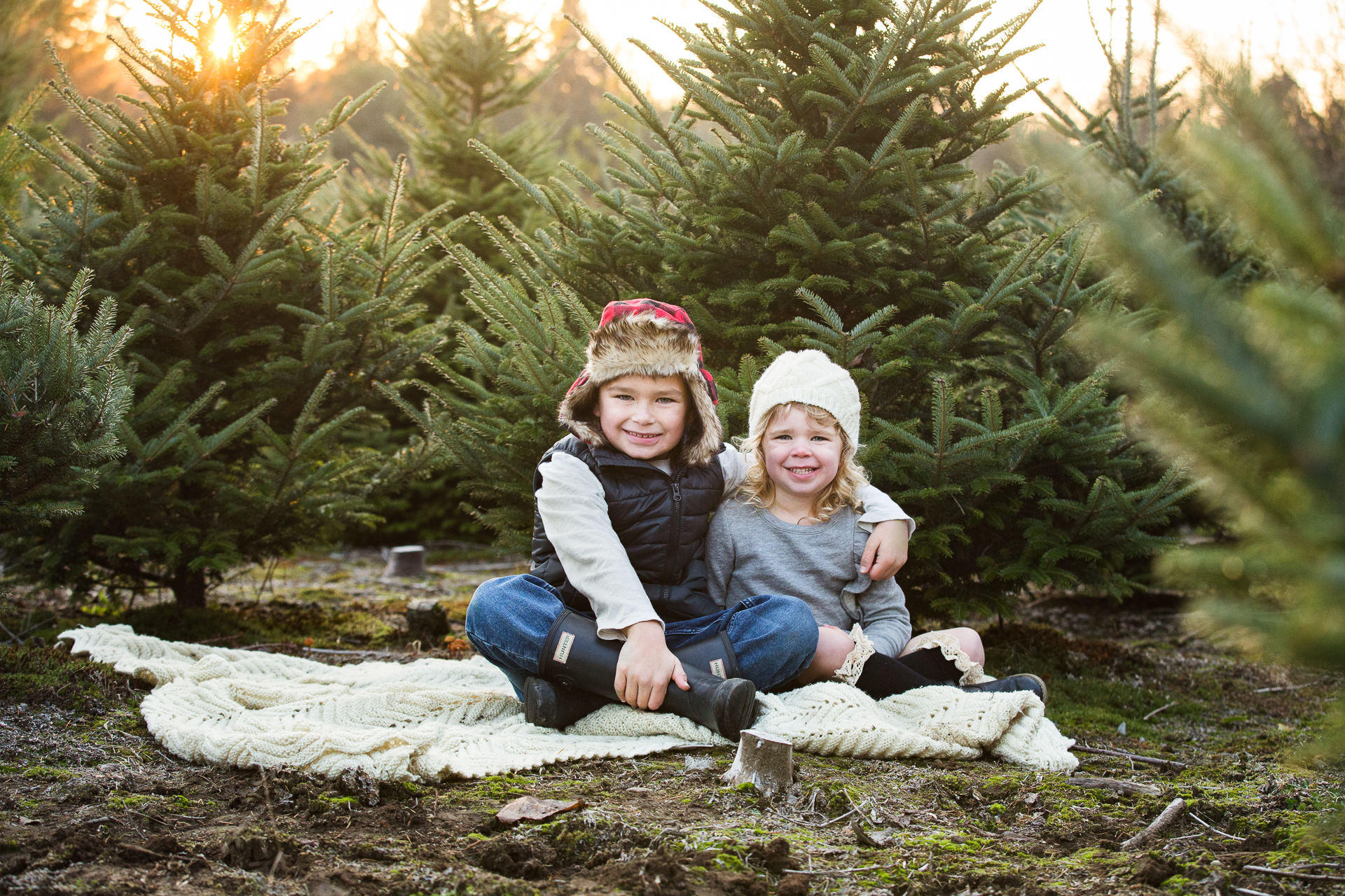 Christmas Tree Farm | Christmas Family Photos | Family Christmas Card Ideas