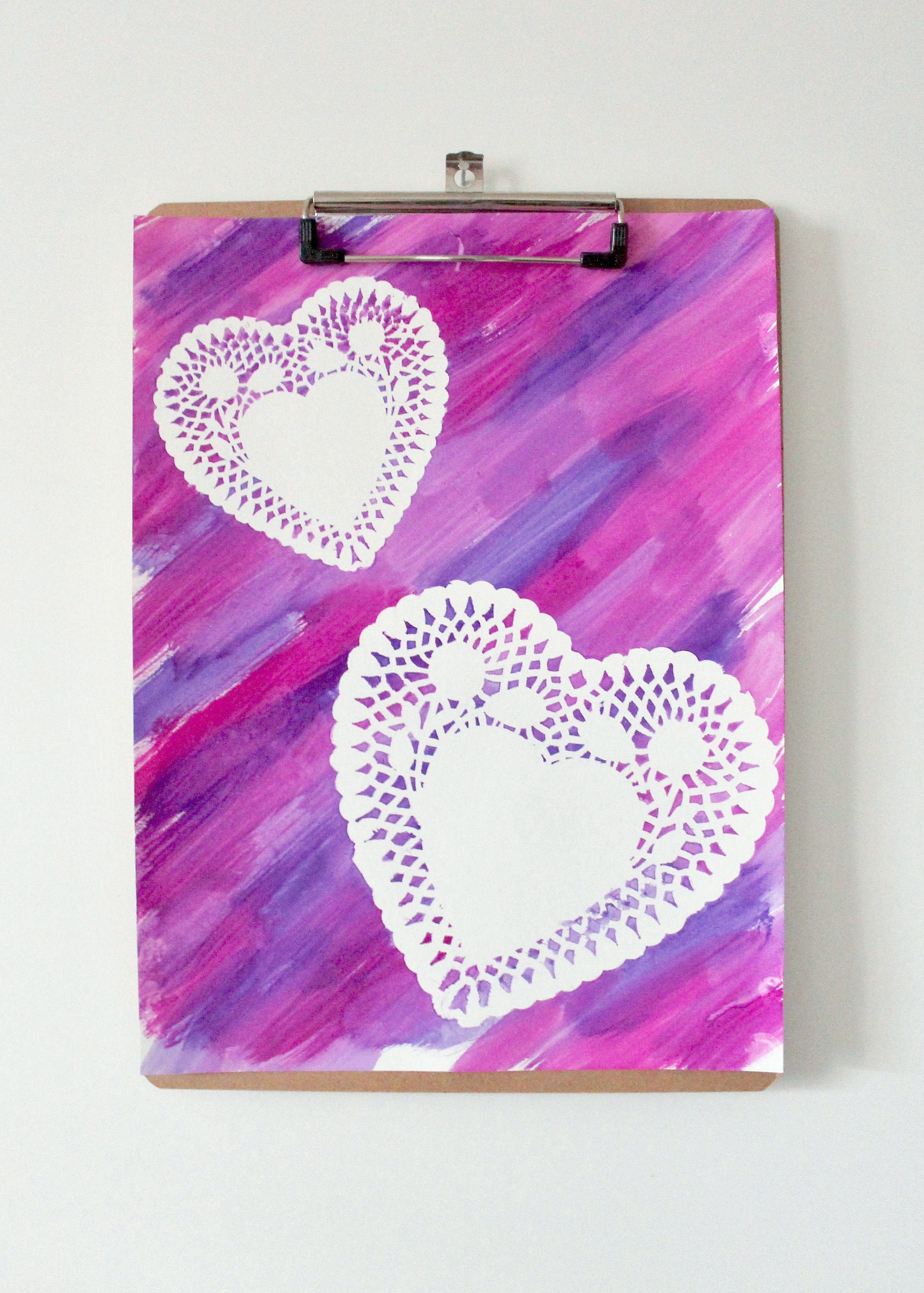 DIY Heart Crafts | Valentines Day Activities for Kids | Valentines Day Crafts | Mix Media Art for Kids | Children's Arts and Crafts | Toddler Art Activity | Activities with Doily