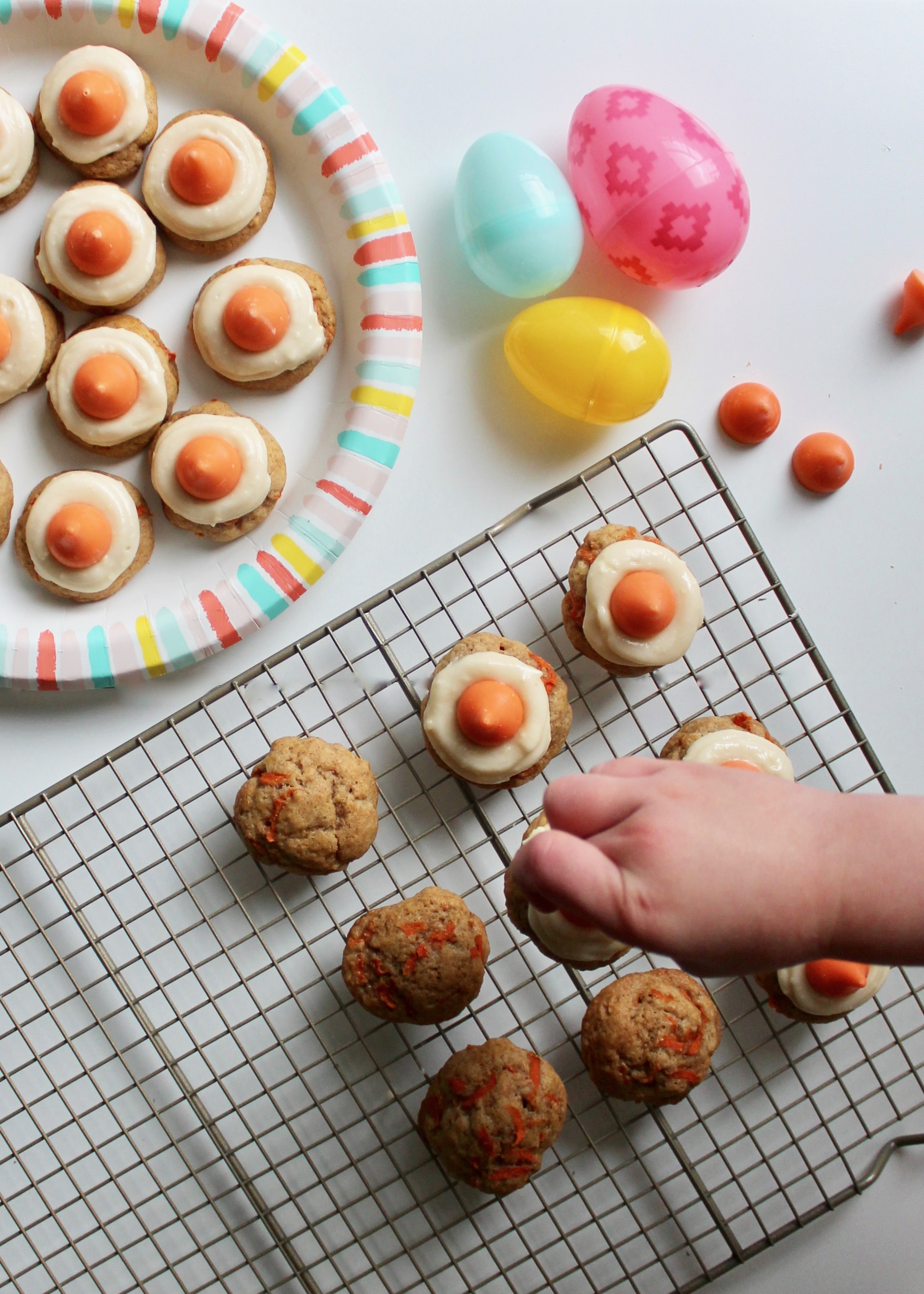 Carrot Cake Cookie | Easter Cookie | Cookie Recipe | Easter Recipe | Kiss Cookies | Baking with Kids