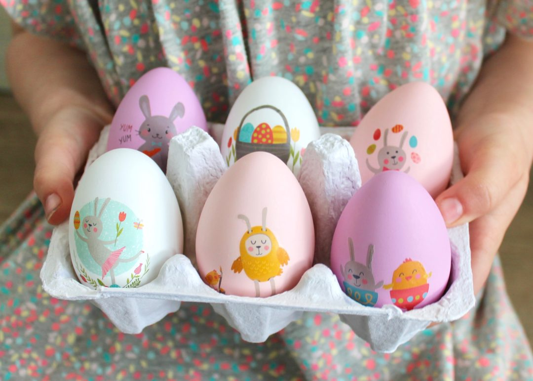 Decorating Easter Eggs with Kids | DIY Easter Eggs | Tattooed Easter Eggs | Easter Activities for Kids