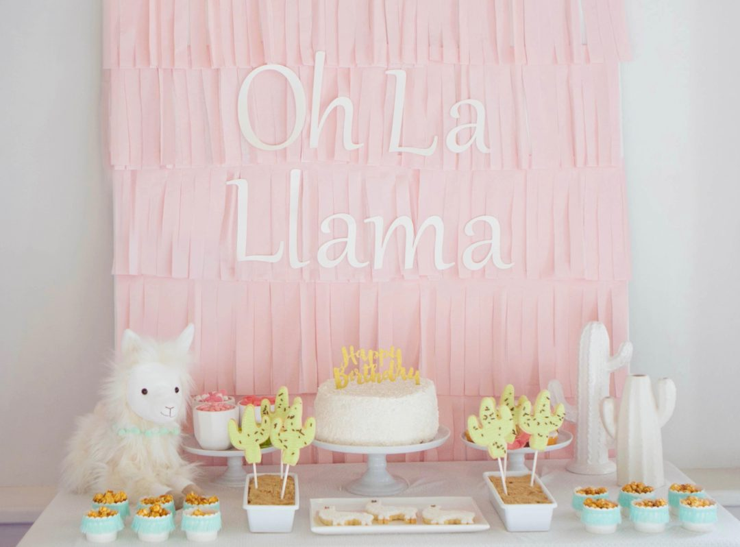 Llama Party | Kids Birthday | Girls Birthday | Girls Party Ideas | Cactus Party | Dessert Table Ideas