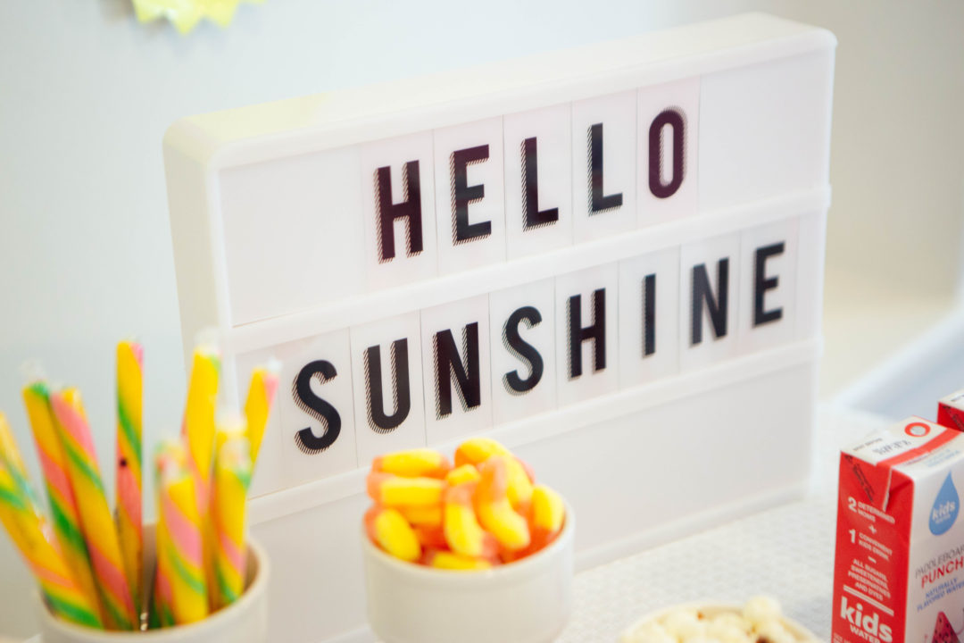 You Are My Sunshine Party | Kids Birthday | Girls Birthday | Girls Party Ideas | Sunshine Party | Dessert Table Ideas