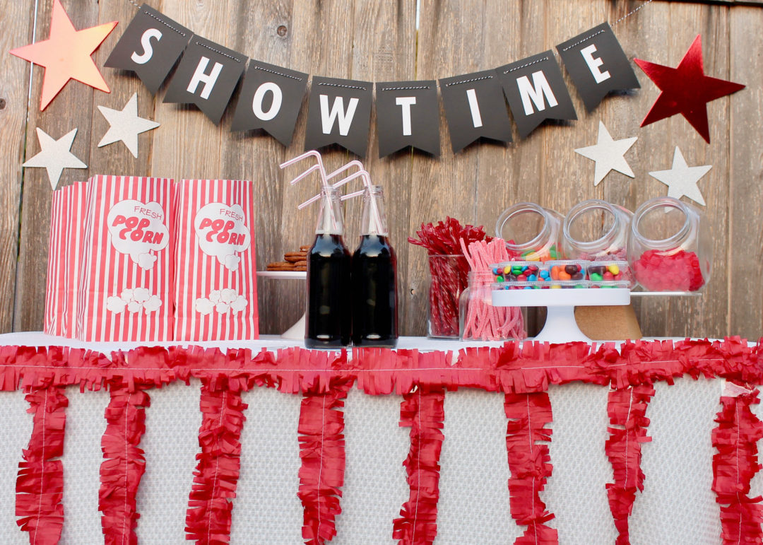 Backyard Movie Night | Outdoor Movie Night | Kids Summer Party Idea |  Vancouver Rental Company - Host A Backyard Movie Night With Roowsi - This Sweet Happy Life