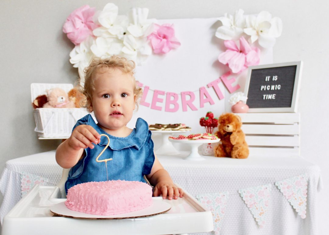 Teddy Bear Picnic Birthday | Toddler Birthday Party | Toddler Birthday Ideas | Toddler Birthday Activities | Kids Party Ideas | Dessert Table | Dessert Table Ideas