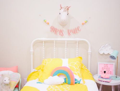 Kid's Bedroom Decor | Girls Bedroom | Girls Room Decor | Kids Home Decor | Pastel Room