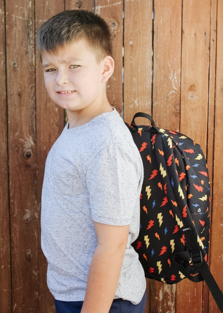 Back to School Fashion For Kids | Canadian Kids Companies | Kids School Style | School Kids Fashion | Kids Backpacks and Lunch Bag | Labelling Kids Stuff